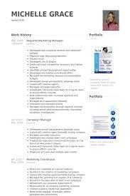 Regional Marketing Manager Resume Samples