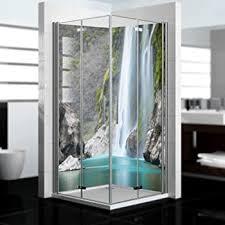 als badrückwand zum fliesenersatz dedeco eck duschrückwand