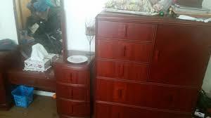 Tiger Oak Dresser Beveled Mirror by Dresser My Antique Furniture Collection