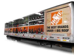100 Home Depot Truck 2013 Vehicle Graphics Awards The Fleet Owner
