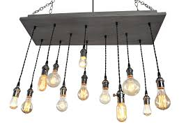 home lighting edison bulb chandelier with remote chandeliers for