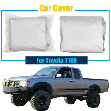 Cawanerl Car Cover Sun Shade Truck Outdoor Sun Rain Snow Resistant ... Bench Seat Truck Car Covers Velcromag Chevy Fantastic Best Dog Reviews Camaro 5 Layer Ultra Shield Car Cover Review Youtube Crew Cab Pickup Rugged Fit Custom For Ford F150 For Trucks Masque Covercraft Chartt Work Cover Gray Twill Auto Sedan Van Universal 12 Military Vehicle Coverking Stormproof
