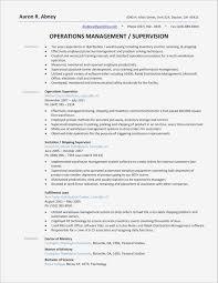 Free Sample Resume For Warehouse Worker Best Manager Lovely 20 Job