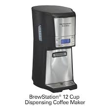 BrewStationR 12 Cup Coffee Maker Black Stainless 48464