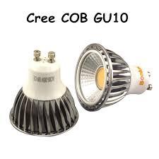 led gu10 bulb light 5w 450lm cree cob gu10 base spot light 110v
