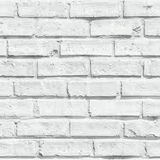 Rustic White Brick Wallpaper VIP 623004