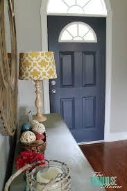 How to Paint an Interior Door Hale Navy