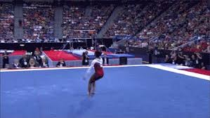 Simone Biles Floor Routine by Simone Biles Gif Find U0026 Share On Giphy