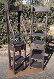 Rustic Stands Made From Pine Traditional Italian Style Painted Natural Based