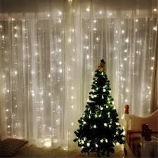 2018 3m 3m 8 modes 304pcs lights light string white lights