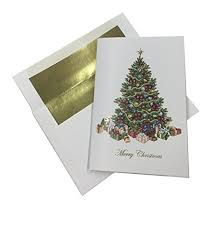 Traditional Christmas Tree With Ornaments And Gifts 24