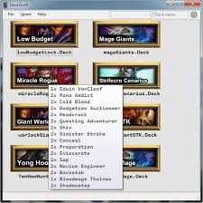 Hearthstone Deck Builder Tool by Introducing Deckslot9 A Hearthstone Deck Importer Application