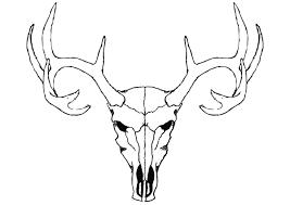 Deer Skull Clip Art