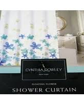 Cynthia Rowley New York Window Curtains by Fall Into This Deal On Cynthia Rowley Fabric Shower Curtain