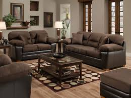 Decorating With Chocolate Brown Couches by Living Room Comfortable Brown Microfiber Couch For Elegant Living