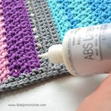 3 ways to make crocheted rugs non slip lillabj禧rn s crochet world