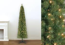 Kohls Artificial Christmas Trees by 49 99 Reg 100 Pre Lit 7 Foot Pencil Artificial Christmas Tree