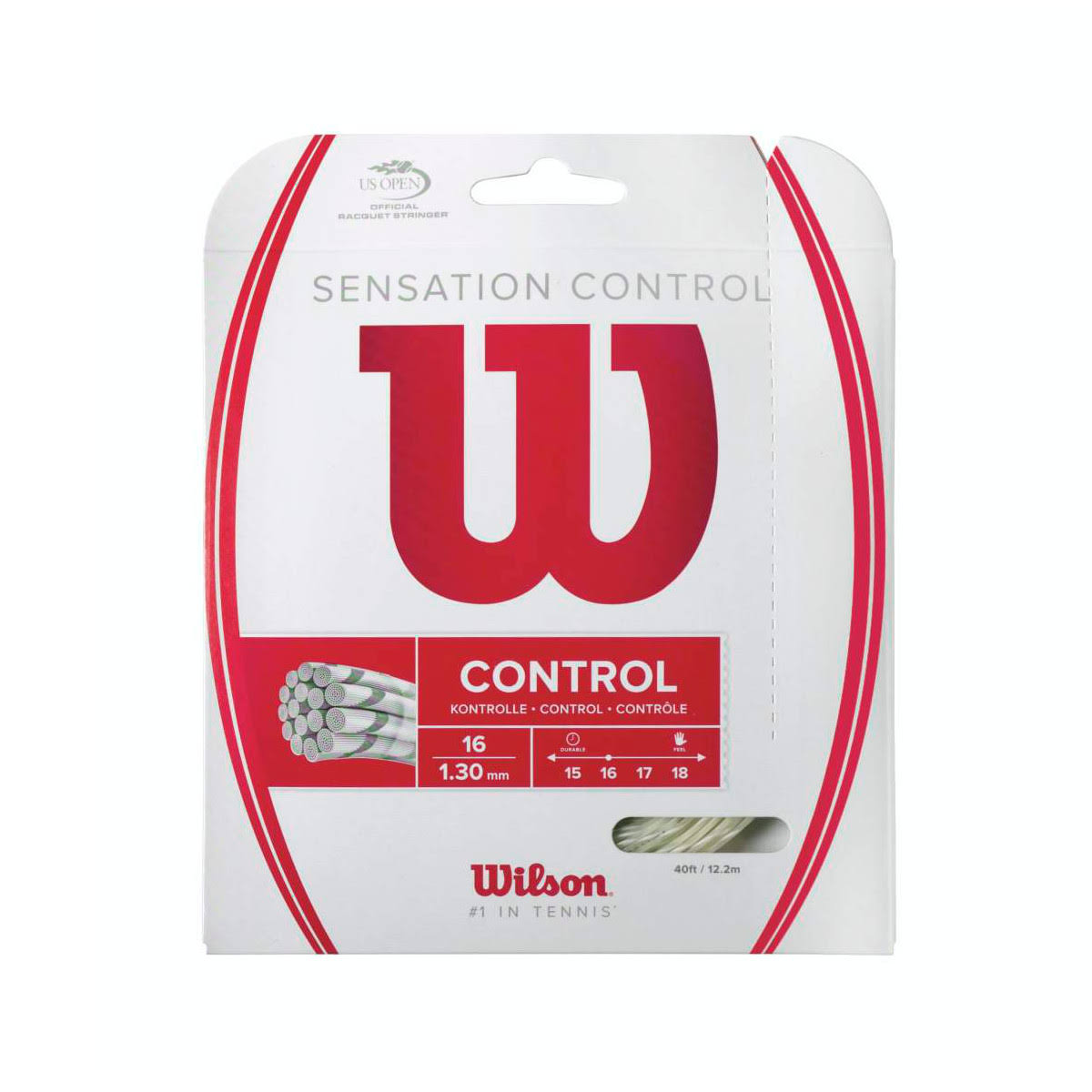 Wilson Sensation Control 16 String Set - Natural, 40'