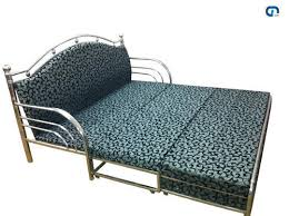 stainless steel sofa cum bed at rs 20000 set s stainless steel