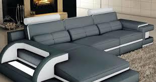 canape cuir angle gauche canape canape design noir et blanc white winter offer cuir 321