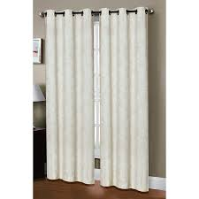 Pottery Barn Curtains Grommet by Amazon Com Window Elements Dover Linen Blend Grommet 76 X 96 In