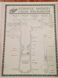 Ebay Barber Chair Belmont by Antique Koken Barber Chair Hydraulic Schematic Antique Chairs