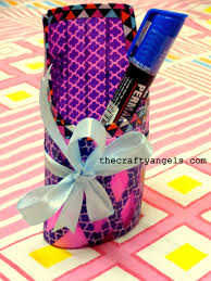 How To Make Handicrafts From Recycled Materials New Shampoo Bottle Recycle Craft 6