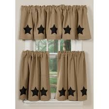 Kitchen Curtain Ideas For Small Windows by Ceiling Interesting Burlap Curtains For Complete The Family