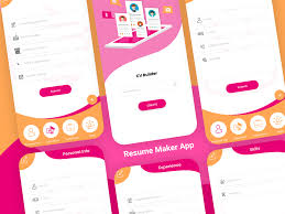 Resume Maker App By Micra Solution On Dribbble Free Resume Builder Professional Cv Maker For Android Examples Online Why Should I Use A Advantages Disadvantages Best Create Perfect Now In 2019 Novorsum Ebook Descgar App Com Generate Few Minutes 10 Building Apps Last Updated November 14 Get Started
