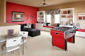 View In Gallery Contemporary Attic Game Room Idea