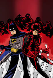 Batman DareDevil Adventures Color By Nic011deviantart On DeviantArt