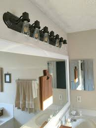edison bulb vanity light barn electric intended for stylish