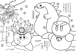 Coloring Pages In Kirby