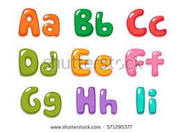 Candy Color Kid Font Part 1