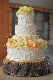 Stand Up And Make A Statement With Rustic Wedding Cake Stands For Wooden