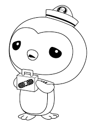 Octonauts Coloring Pages Gup E In