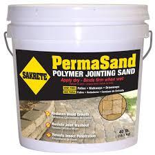 sakrete permasand 40 lb paver joint sand 65470004 the home