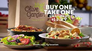 Olive Garden TV mercial Buy e Take e For Later iSpot