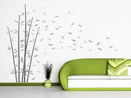 wandtattoo dekorativer bambus