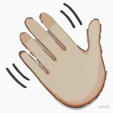 Hello clipart hand wave 12