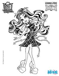 Spectra Vondergeist Rochelle Goyle 2 Coloring Page
