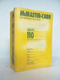 McMaster Carr Catalogue Issue 110