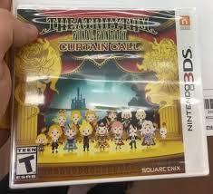 Theatrhythm Final Fantasy Curtain Call Limited Edition by Theatrhythm Final Fantasy Curtain Call Nintendo 3ds Walmart Com