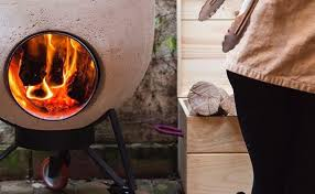 100 V01 Noori Modular Wood And Charcoal Burner Is A Pizza Oven And Grill In One