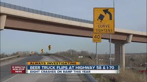 100 I 70 Truck Stops Another Beer Truck Rolls On Hwy 58 Near YouTube