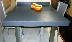 fabriquer table haute cuisine plan de travail table fabriquer plan de travail cuisine plan de