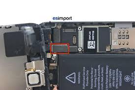 tutoriel décrivant le changement de l ensemble écran sur un iphone 5s