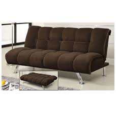 whi maro klik klak sofa brown disc 108 727 modern furniture canada