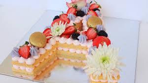 Naked Number Cake Wwwjamiebakescakescouk Nina Pinterest