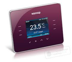 Easy Heat Warm Tiles Thermostat by Warmup 3ie Thermostat Warm Berry Thermostats U0026 Controls
